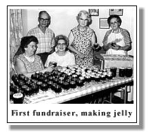 first fundraiser event making jelly